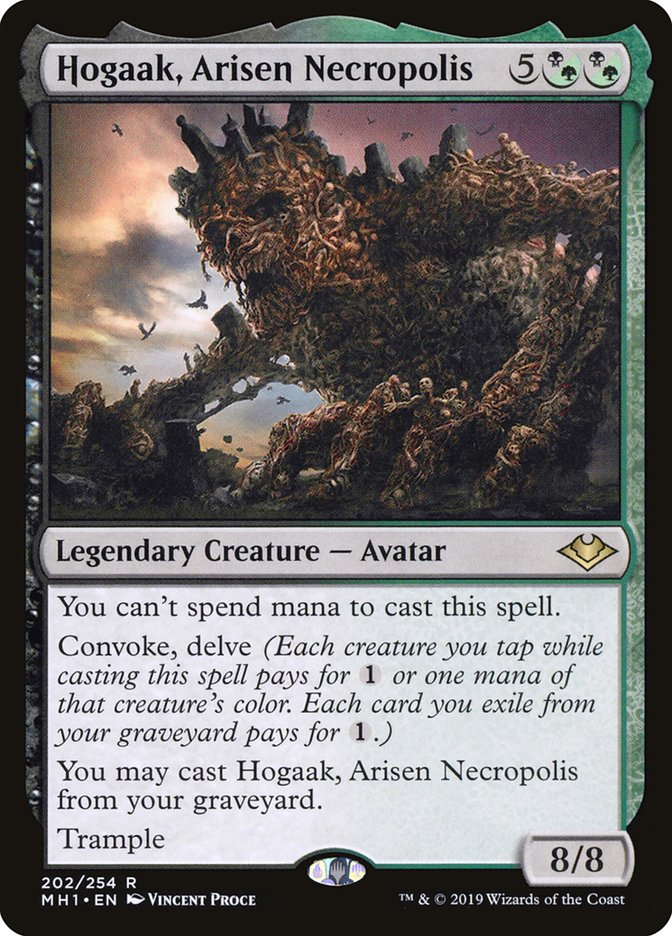 Hogaak, Arisen Necropolis - Magic: the Gathering