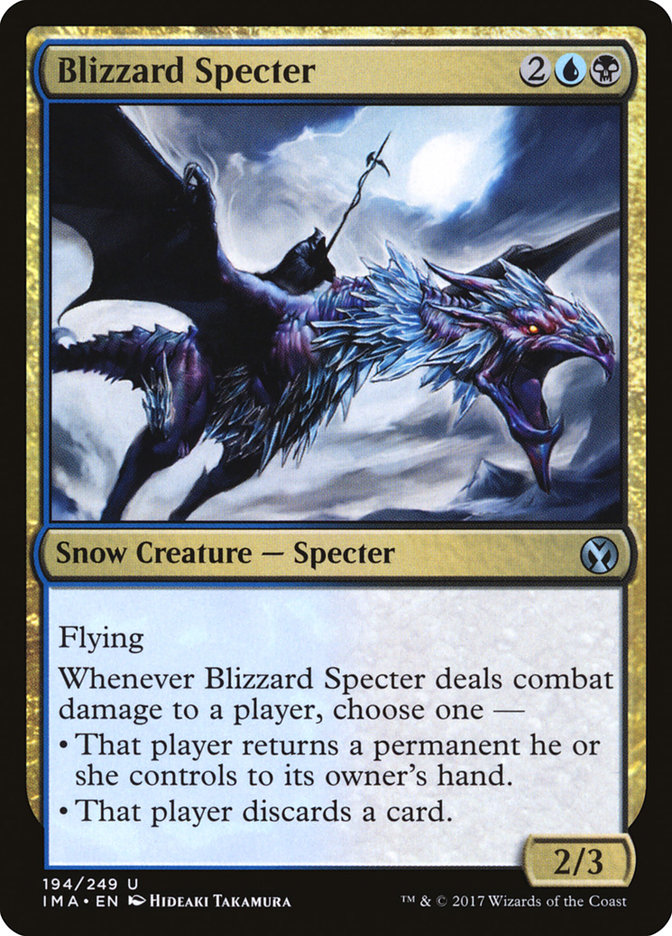 Blizzard Specter Iconic Masters Ima 194 Scryfall Magic The Gathering Search