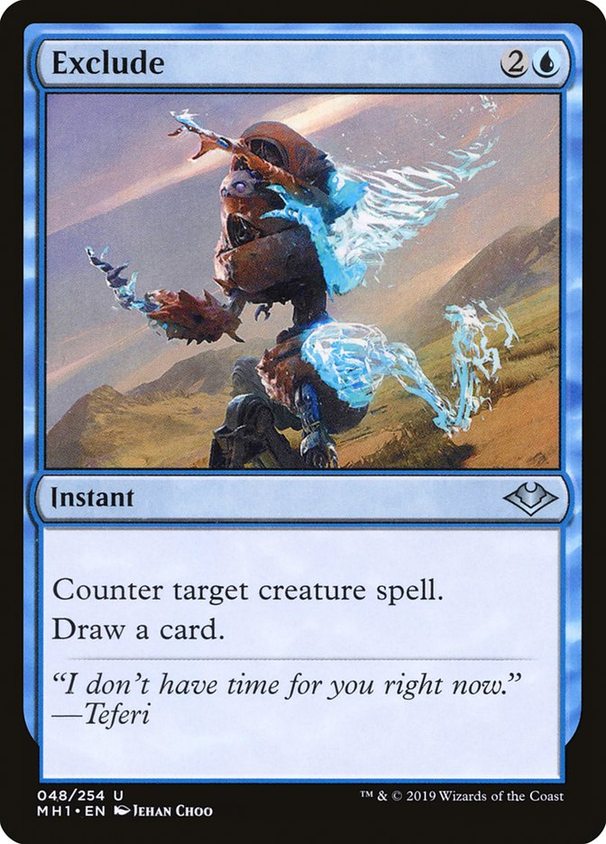 exclude · modern horizons mh1 48 · scryfall magic the