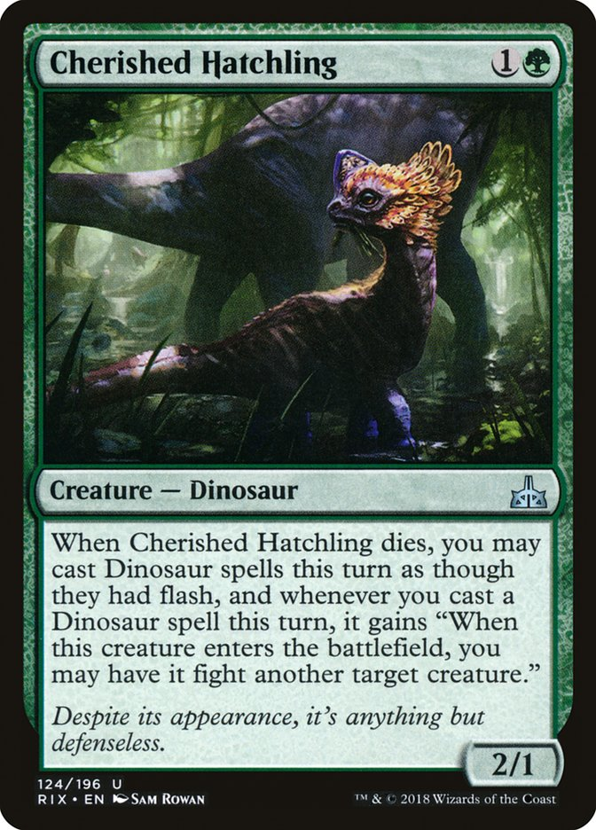 - Rivals of Ixalan 4 x Cacophodon 123//196 Uncommon