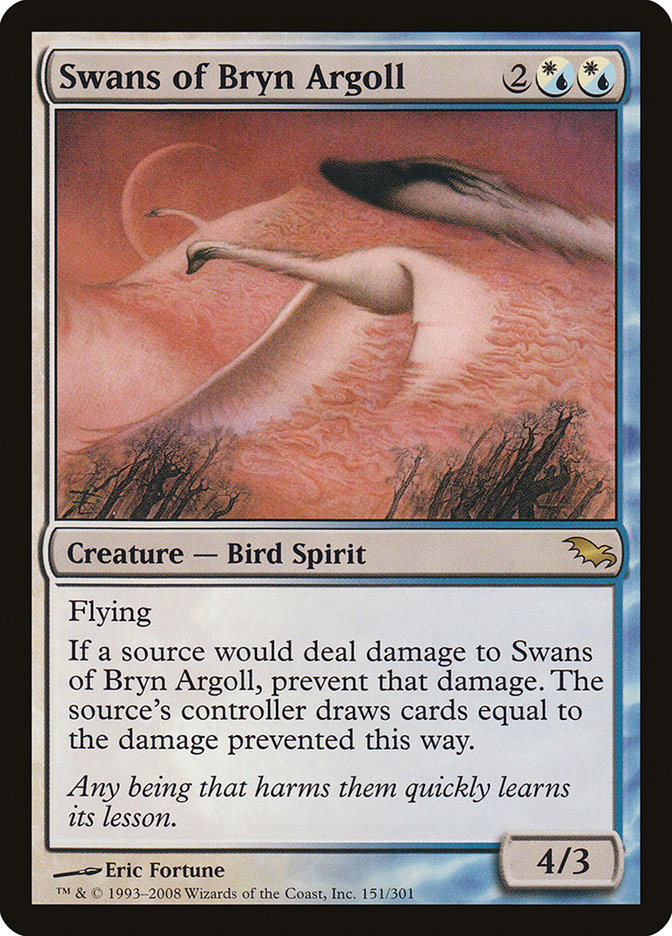 Swans of Bryn Argoll (Shadowmoor)