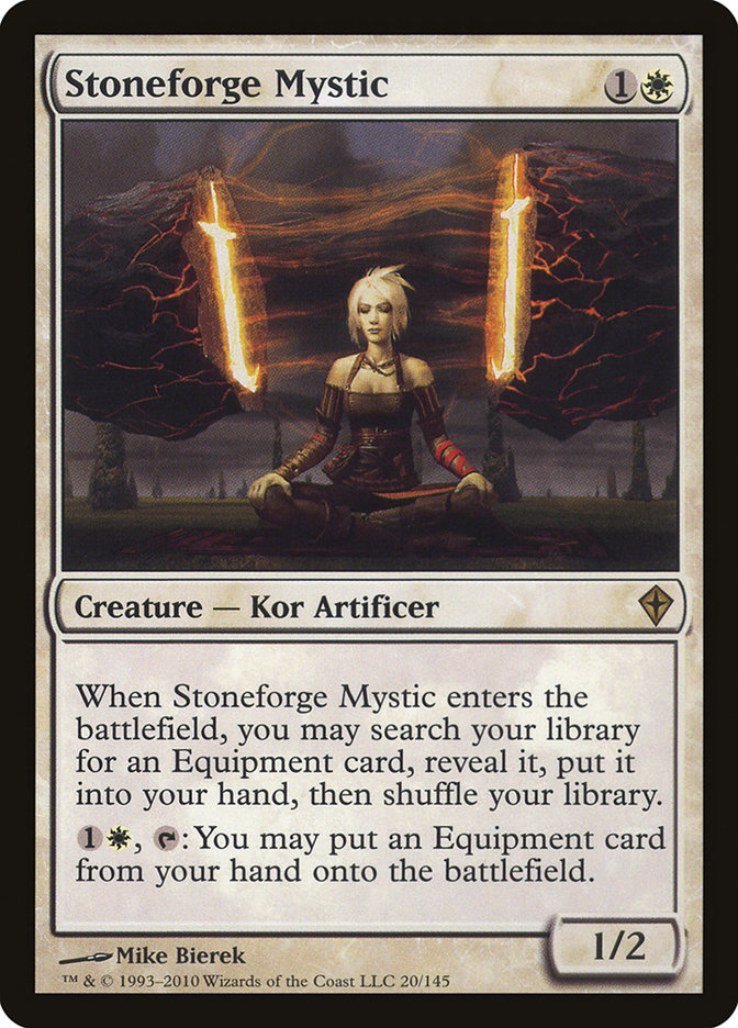Stoneforge Mystic · Worldwake (WWK) #20 · Scryfall Magic: The Gathering  Search