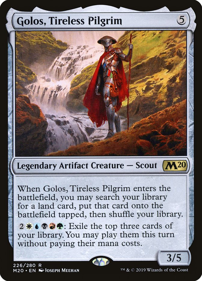 Golos, Tireless Pilgrim - Magic: the Gathering