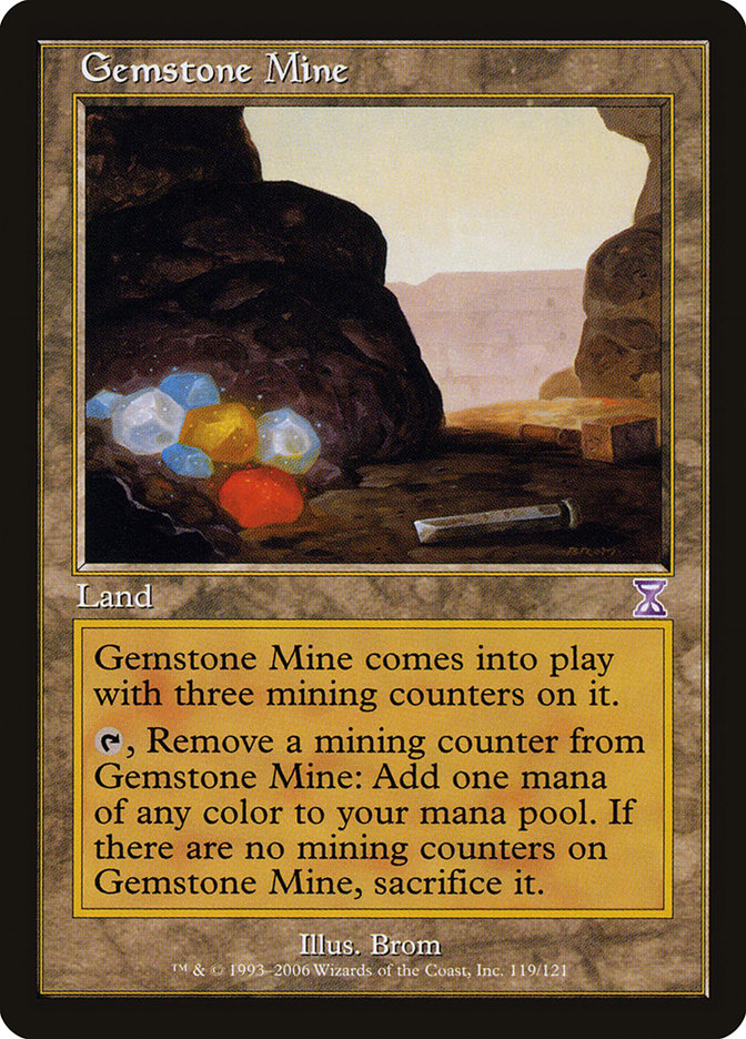 Gemstone Mine (Time Spiral Timeshifted)