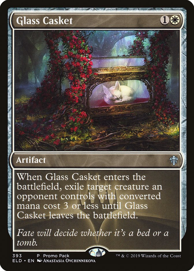 Glass Casket