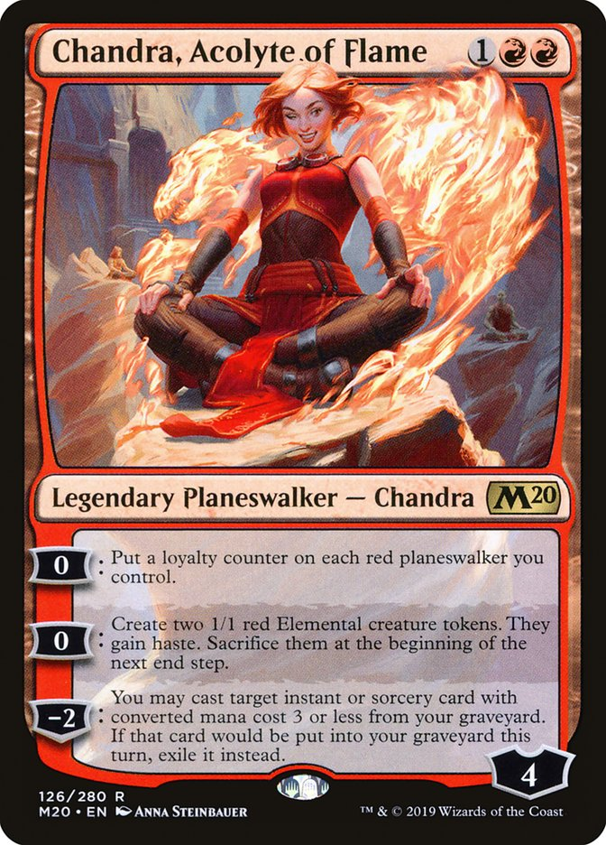 Chandra, Acolyte of Flame - Magic: the Gathering