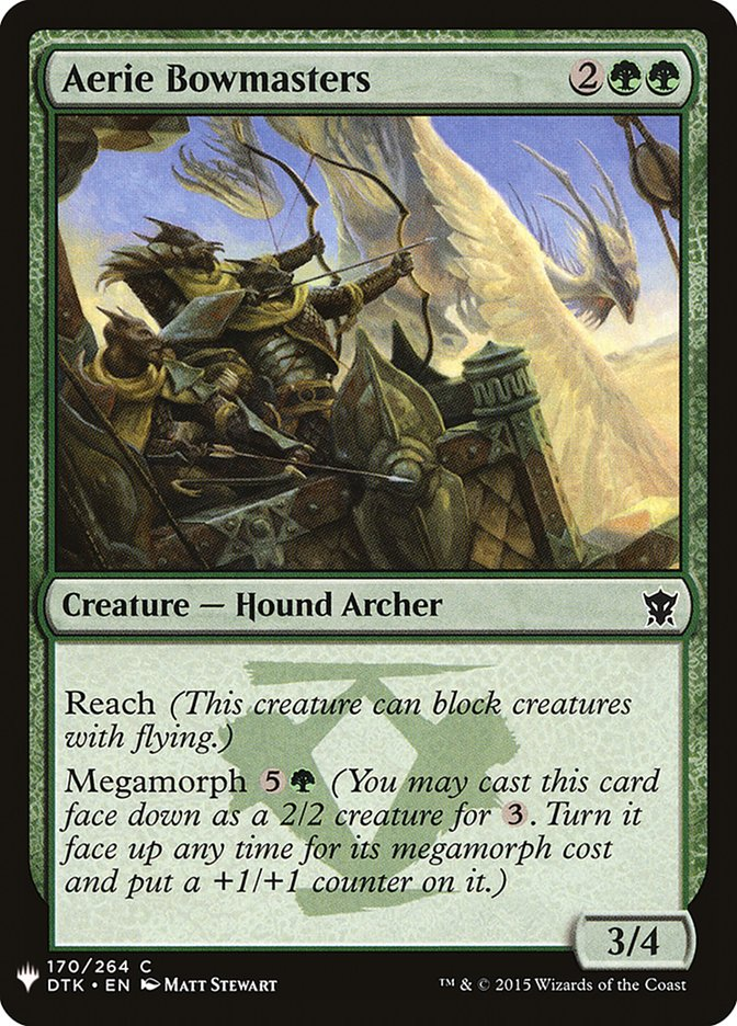 Aerie Bowmasters image