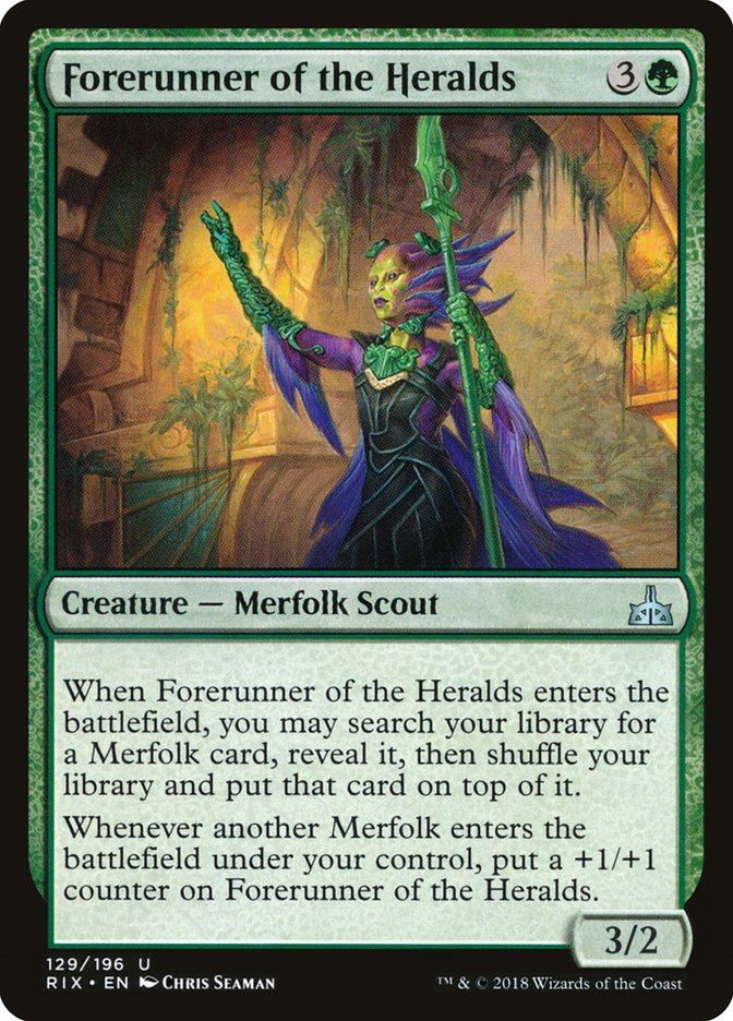 Forerunner of the Heralds