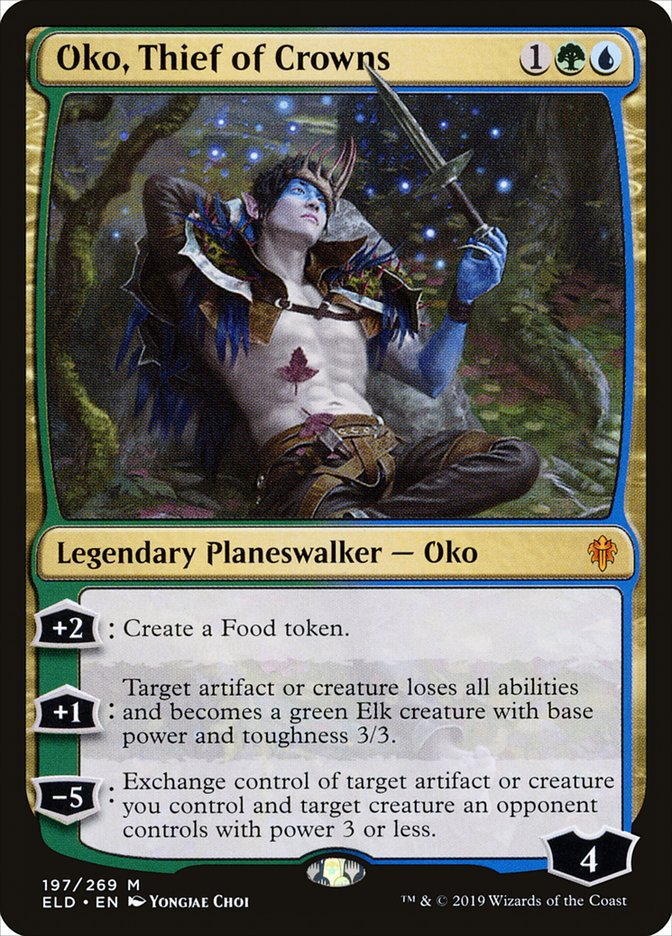 MTG Card Oko, Thief of Crowns
