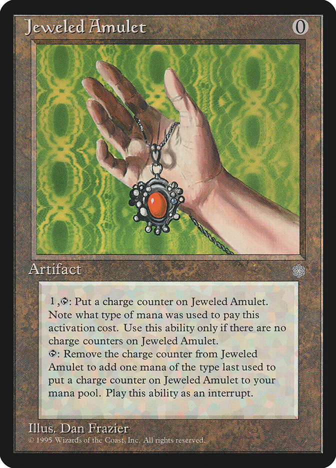 Jeweled Amulet MTG