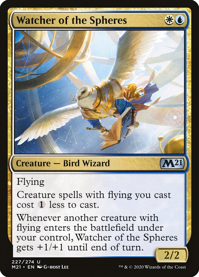 Watcher of the Spheres · Core Set 2021 (M21) #227 · Scryfall Magic ...