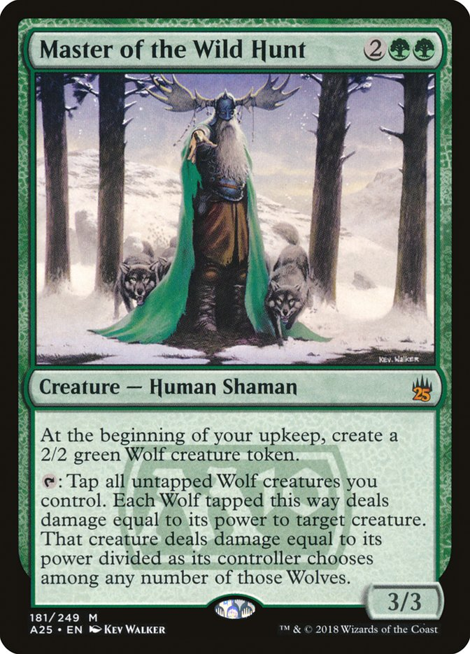 Master Of The Wild Hunt Masters 25 A25 181 Scryfall Magic The Gathering Search