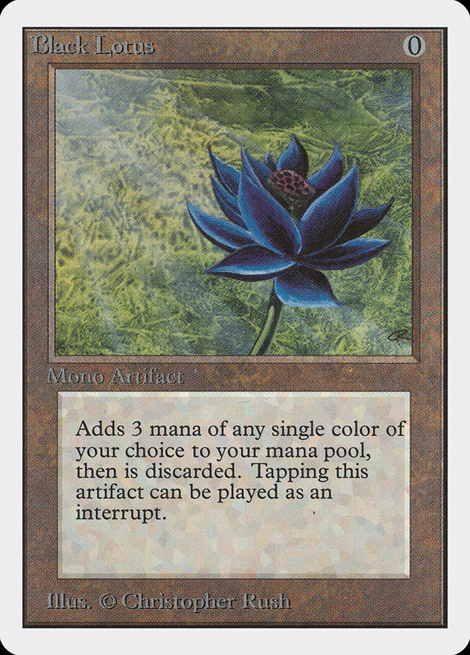 Black Lotus Unlimited Edition 2ed 233 Scryfall Magic The