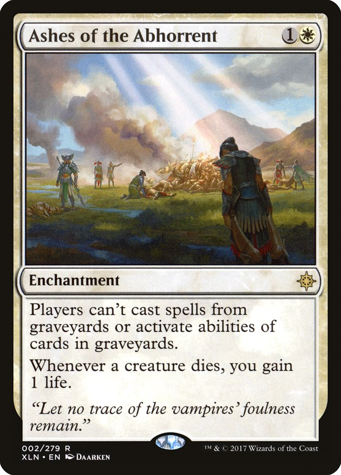 Ashes of the Abhorrent Ixalan