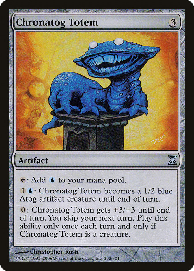 Time Spiral Magic Card Foriysian Totem MTG