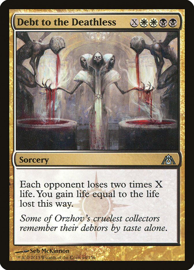 Debt To The Deathless Dragon S Maze Dgm 64 Scryfall Magic The Gathering Search Most of them are memes. debt to the deathless dragon s maze