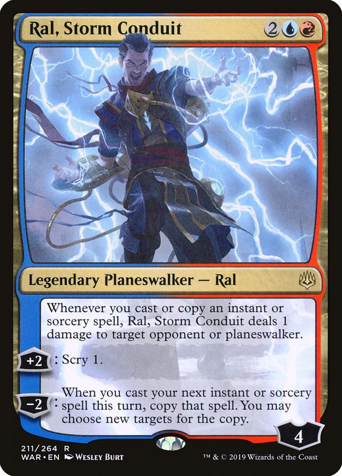Ral, Storm Conduit - Magic: the Gathering