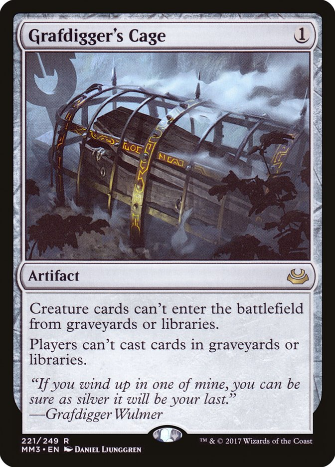 Grafdigger's Cage - Magic: the Gathering