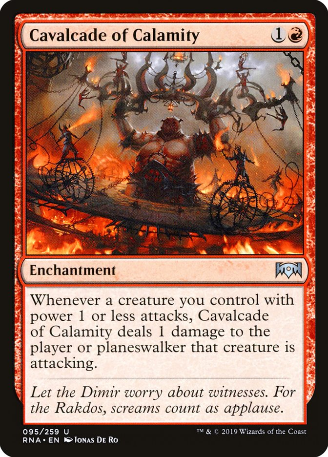 Cavalcade of Calamity - Magic: the Gathering