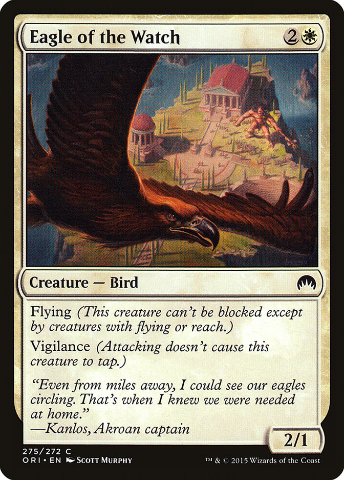 Eagle of the Watch (Magic Origins)