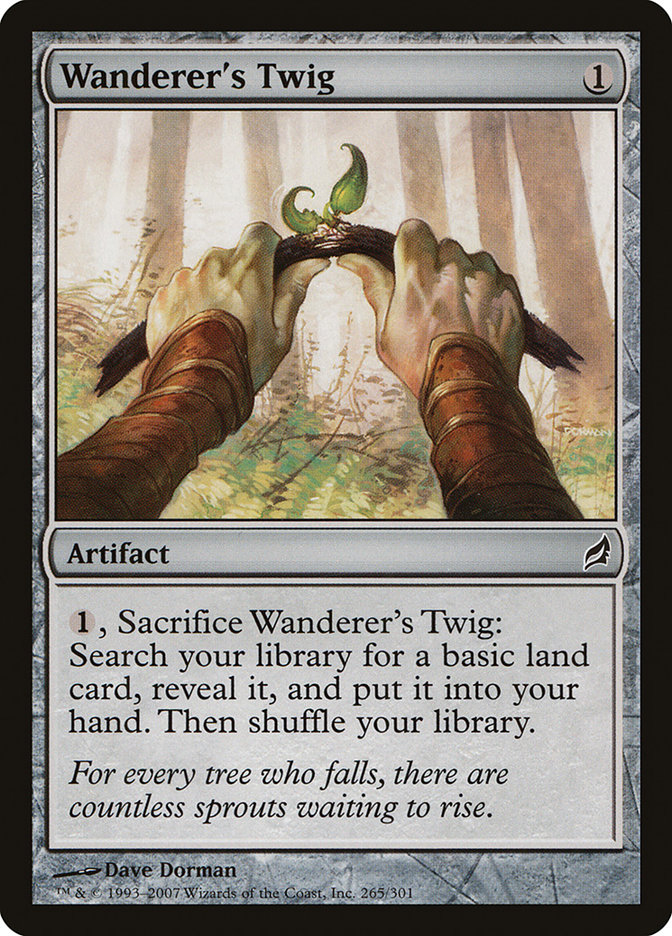 Magic The Gathering Wanderers Twig Lorwyn
