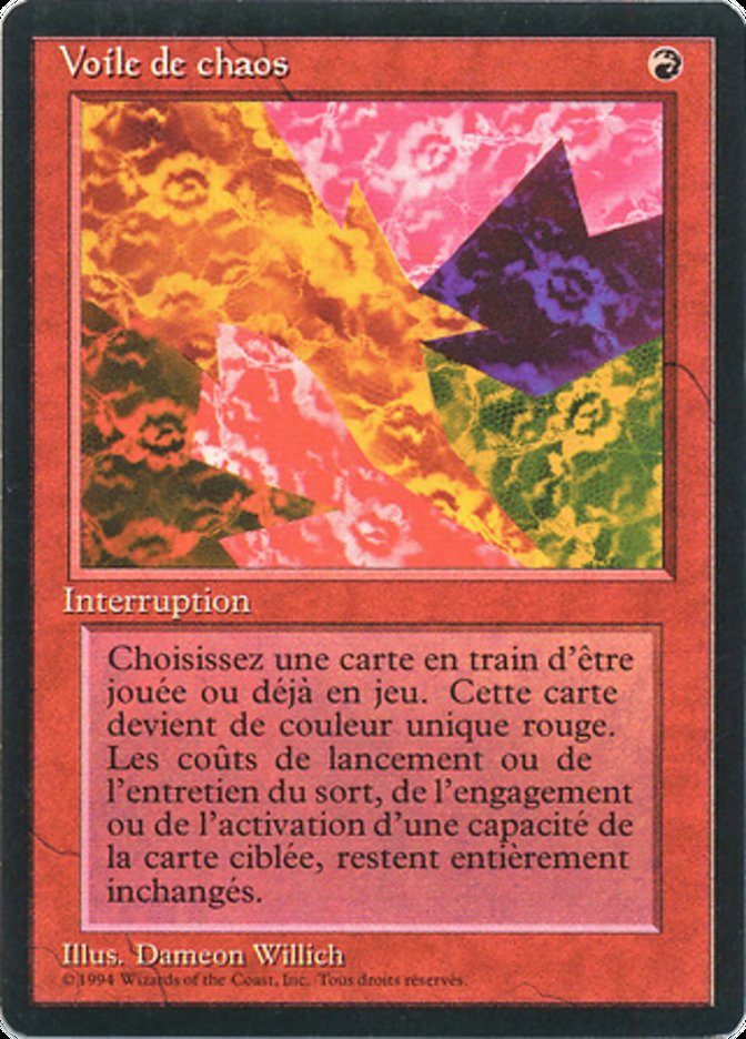 Voile de chaos · Foreign Black Border (FBB) #141 · Scryfall
