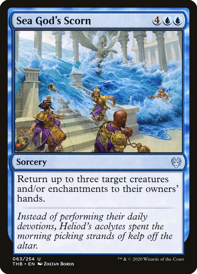 NM 4x Klothys/'s Design Theros Beyond Death Green Uncommon