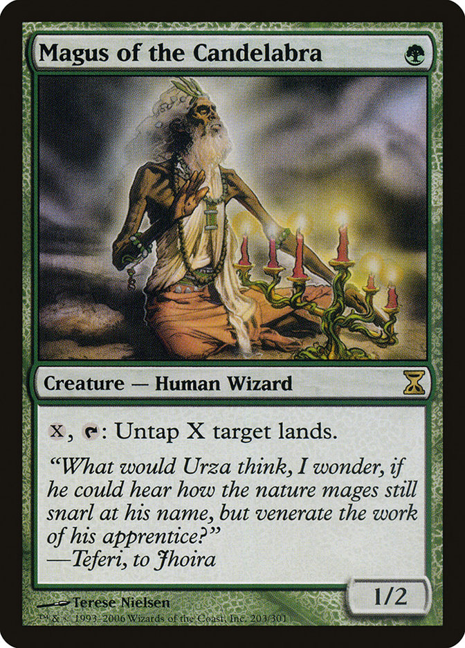 Magus of the Candelabra (Time Spiral)