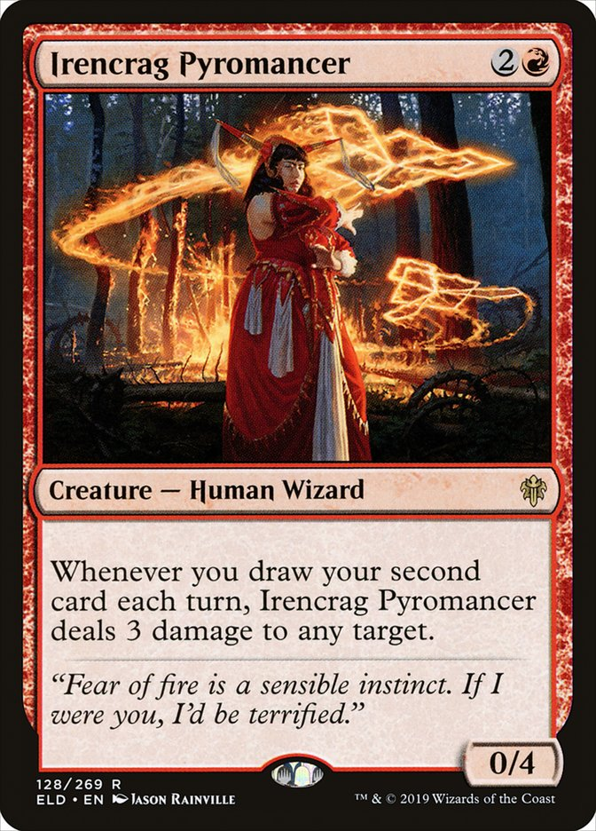 Irencrag Pyromancer - Magic: the Gathering