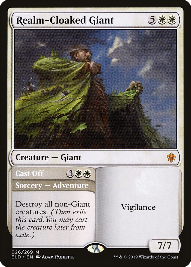 Realm-Cloaked Giant - Magic: the Gathering