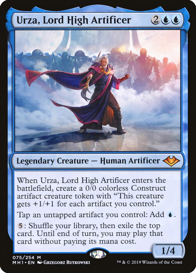 Urza Lord High Artificer Modern Horizons