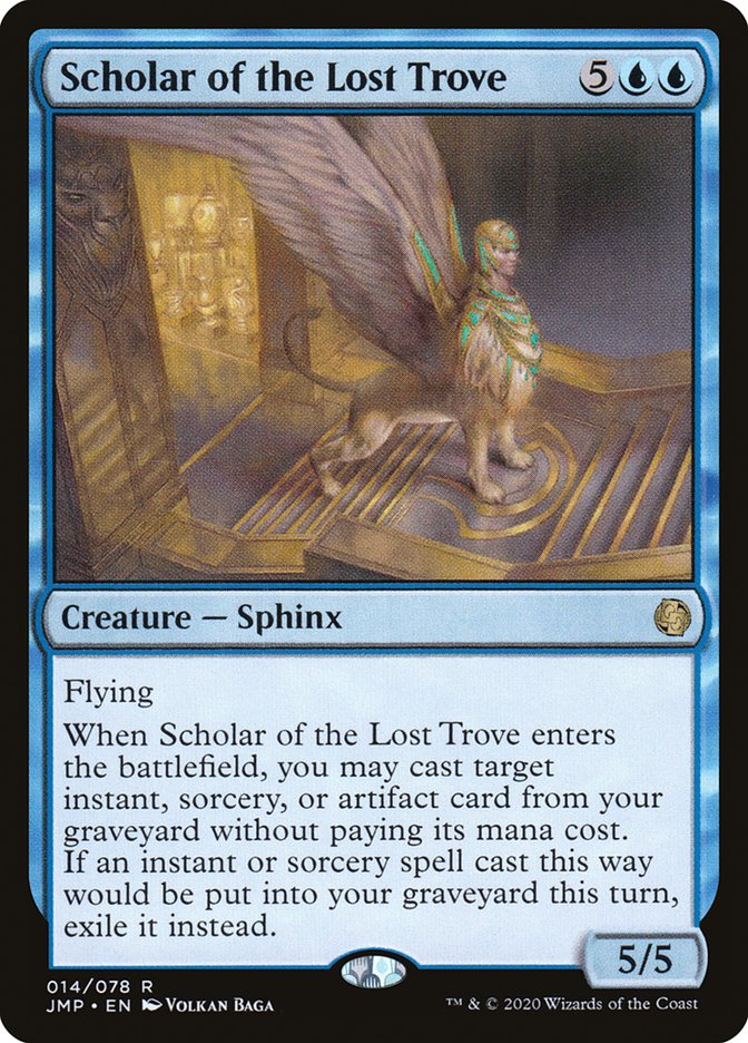 Scholar of the Lost Trove · Jumpstart (JMP) #14 · Scryfall Magic: The  Gathering Search
