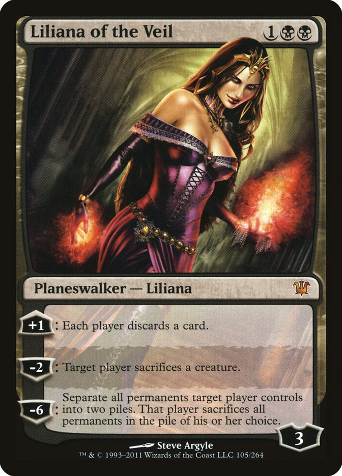 6ecdcc469e1e Liliana of the Veil · Innistrad (ISD)  105 · Scryfall Magic  The ...