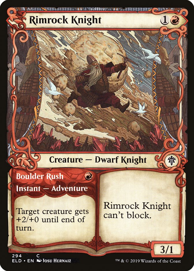 Rimrock Knight // Boulder Rush