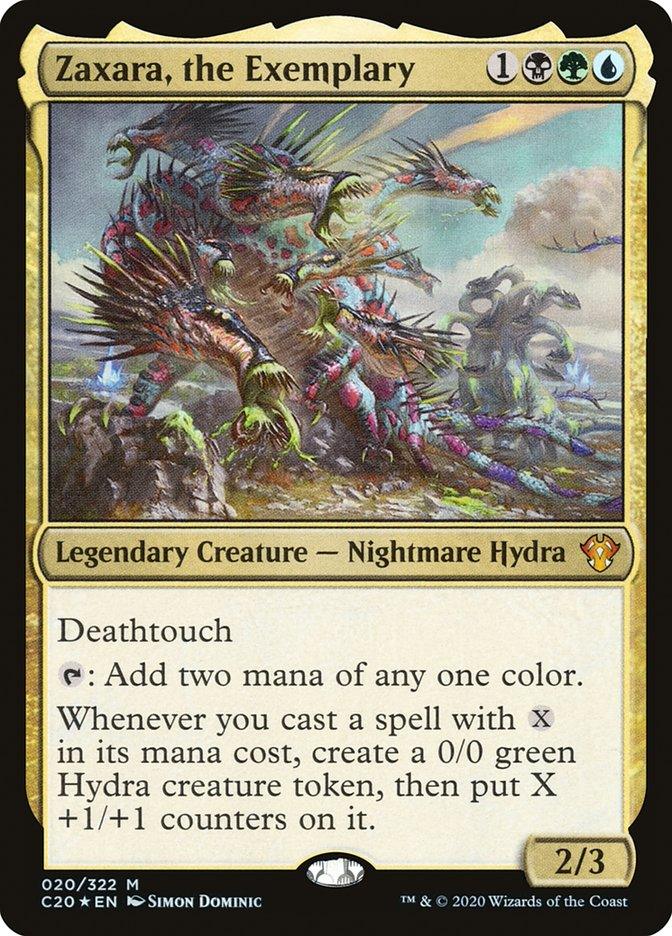 Zaxara Aggro Card Draw Combo This Hydra Does It All Mtgnexus