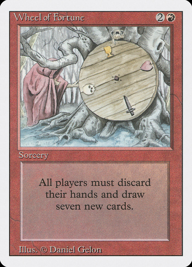 wheel of fortune · revised edition 3ed 185 · scryfall