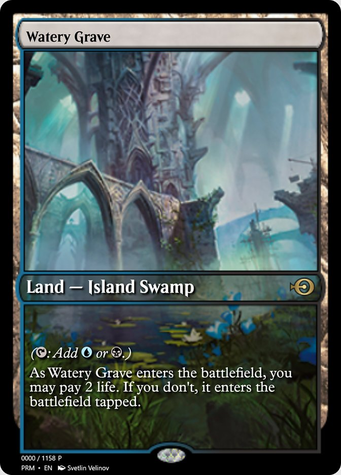 MtG 1x Watery Grave Chinese GRN