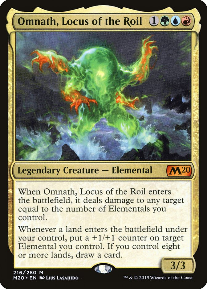 Mtg Banned List Update 2020.Omnath Locus Of The Roil Core Set 2020