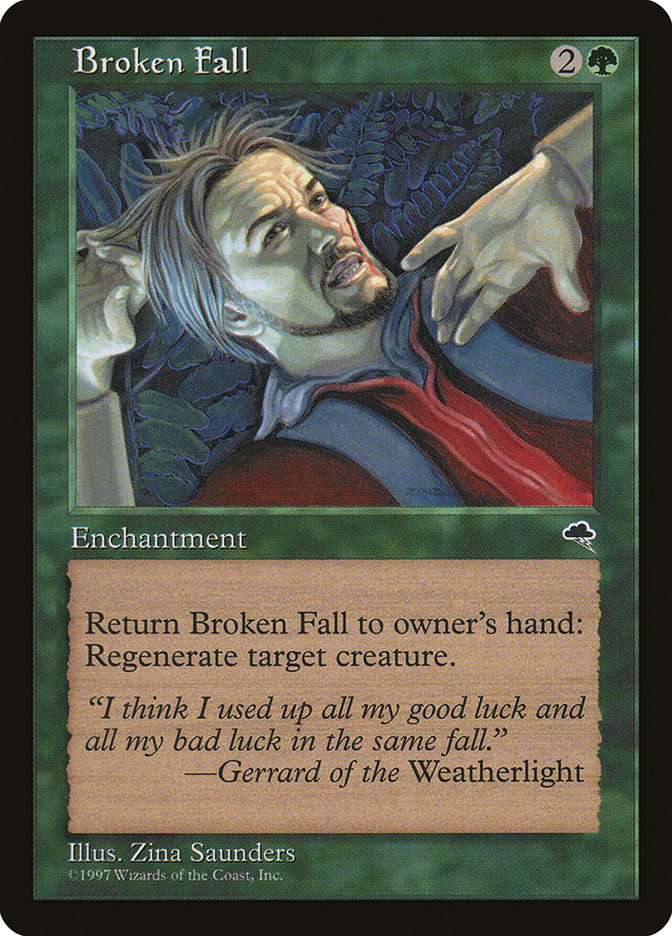 Broken Fall Tempest Tmp 216 Scryfall Magic The Gathering Search (the next time that creature would be destroyed this turn, it isn't. broken fall tempest