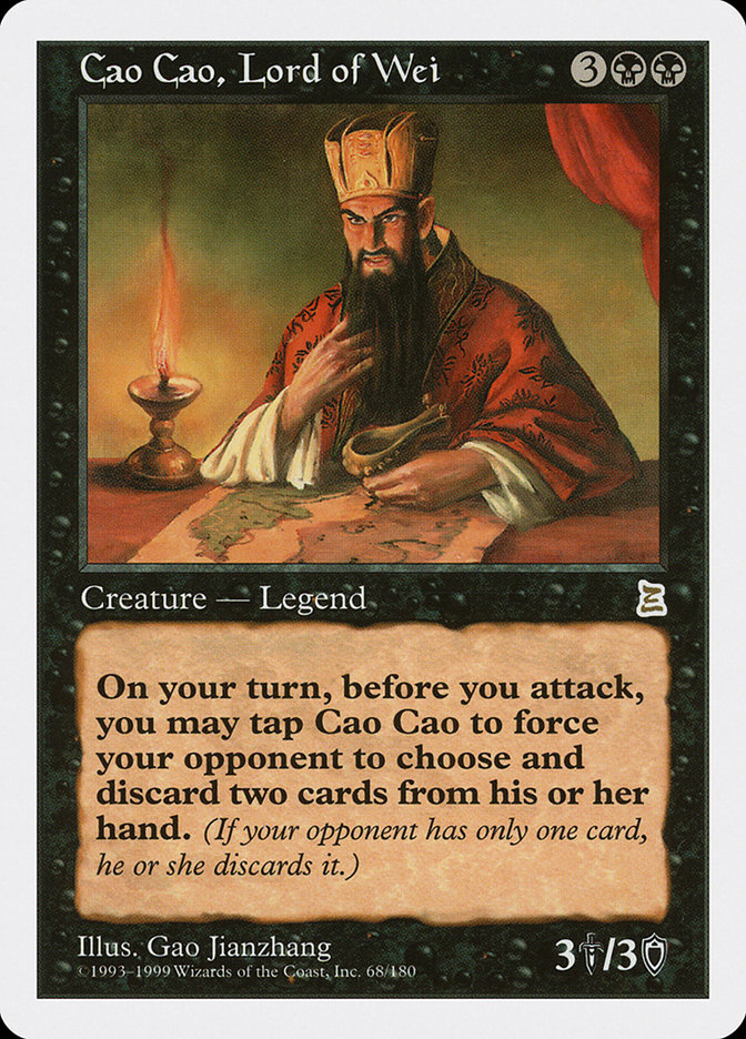 Cao Cao, Lord of Wei (Portal Three Kingdoms)
