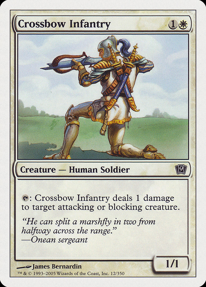 Crossbow Infantry (Ninth Edition)
