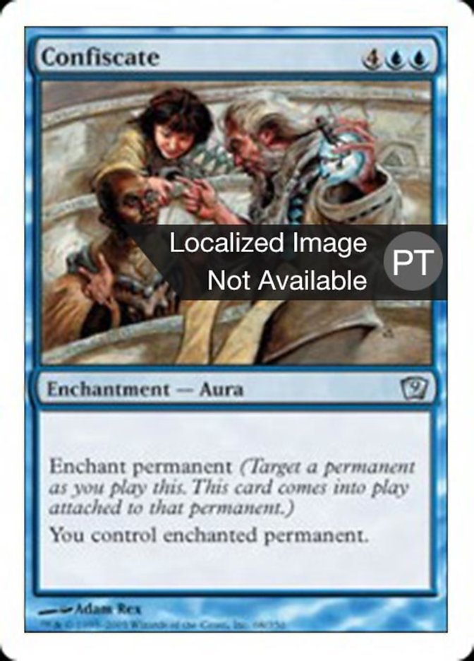 Confiscate | Confiscar - carta de Magic: the Gathering - MTG