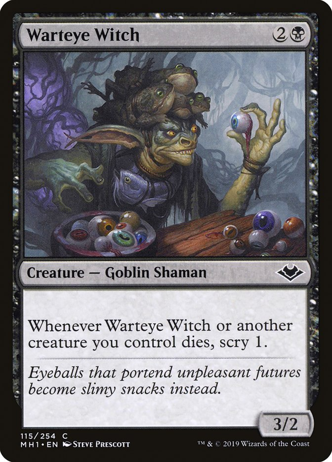 074d838e6 Warteye Witch | Warteye Witch - Cards Realm