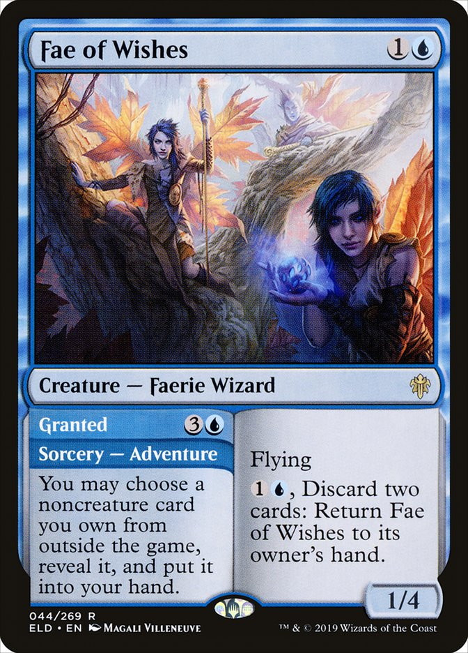 Fae of Wishes - Magic: the Gathering