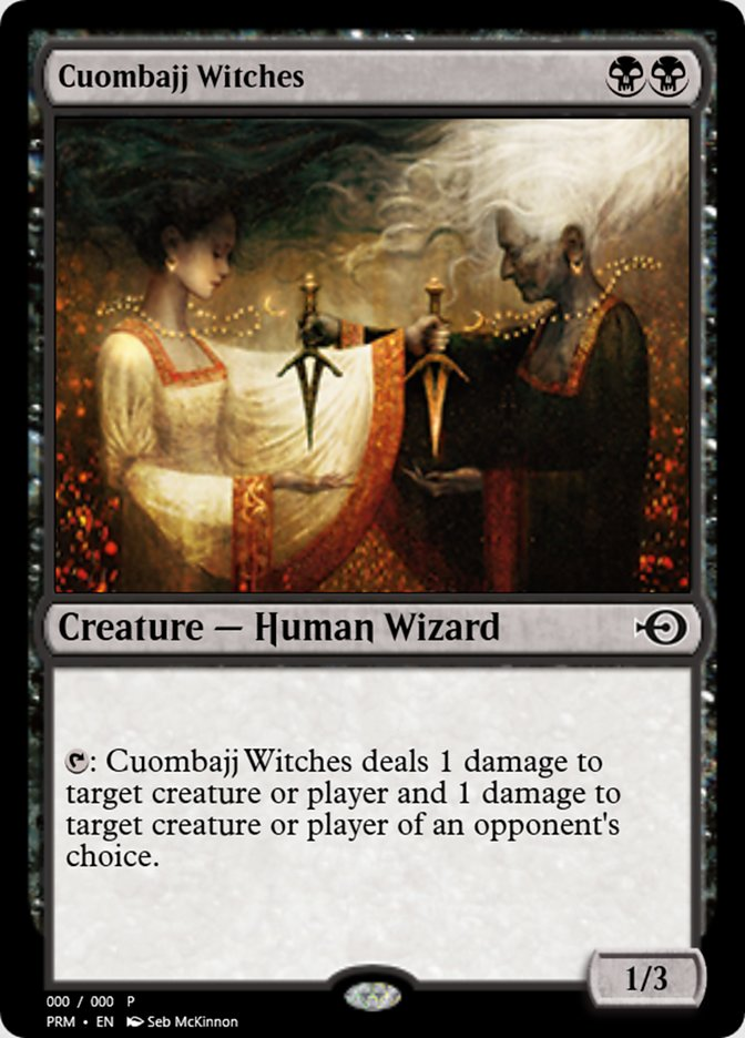 Cuombajj Witches (Magic Online Promos)