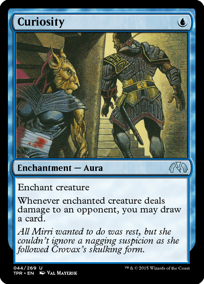 Curiosity Tempest Remastered Tpr 44 Scryfall Magic The Gathering Search