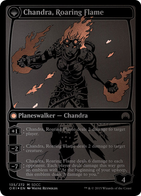 Chandra, Fire of Kaladesh // Chandra, Roaring Flame (PS15)
