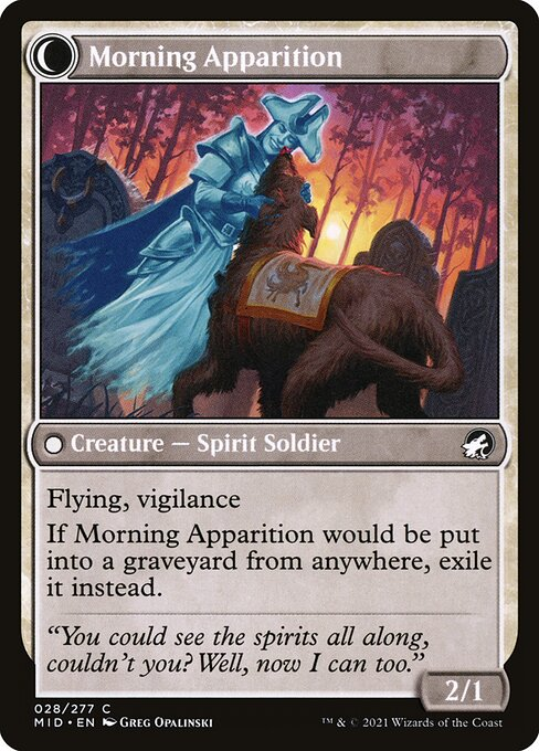 Mourning Patrol // Morning Apparition (MID)
