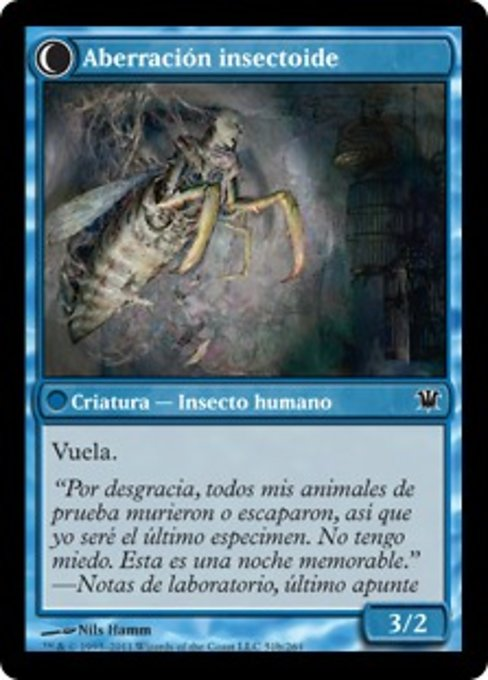 Delver of Secrets // Insectile Aberration (ISD)