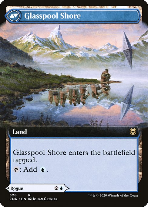 Glasspool Mimic // Glasspool Shore (ZNR)